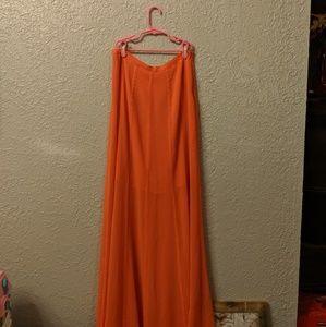 hinge Skirts - Sheer skirt